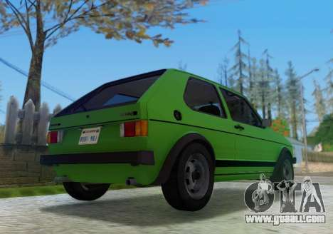 Volkswagen Golf GTD Mk1 for GTA San Andreas