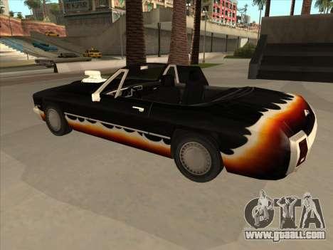Diablo Stallion из GTA 3 for GTA San Andreas back view