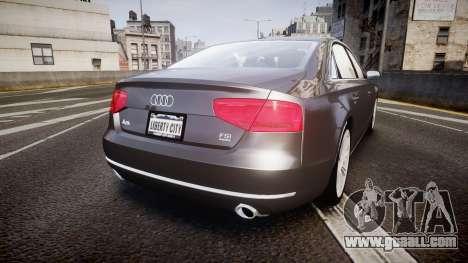 Audi A8 L 4.2 FSI quattro for GTA 4