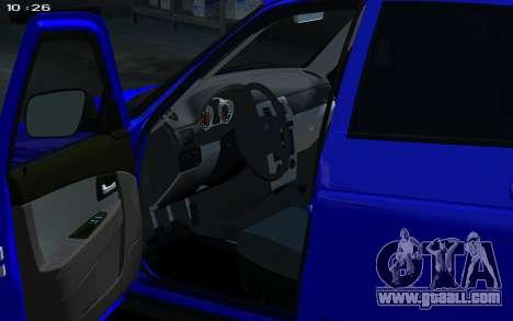 Lada 2172 2012 for GTA 4 right view