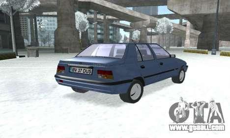 Dacia Super Nova for GTA San Andreas left view