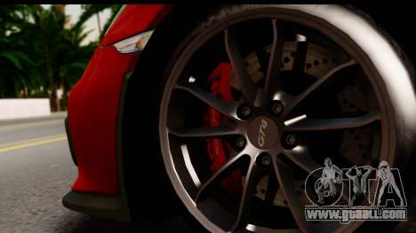 Porsche Cayman GT4 981c 2016 EU Plate for GTA San Andreas back view
