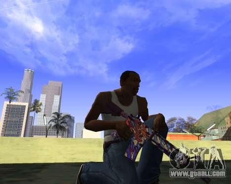 Skins Weapon pack CS:GO for GTA San Andreas fifth screenshot