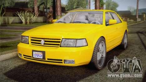 MP3 Fathom Lemanja LX for GTA San Andreas