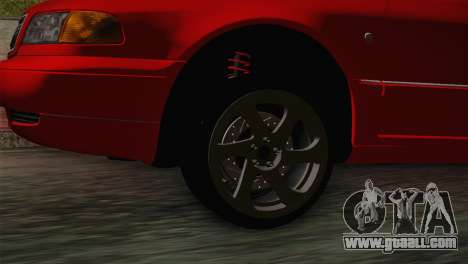 Audi A8 2000 for GTA San Andreas back left view