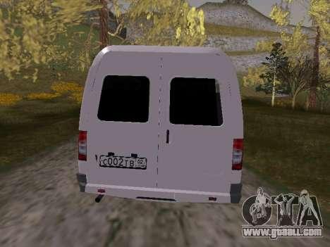 GAZ 2705 for GTA San Andreas right view