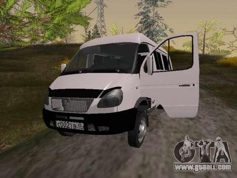 GAZ 2705 for GTA San Andreas