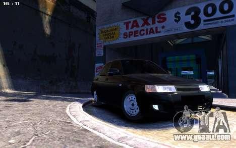 Lada 2110 for GTA 4 right view