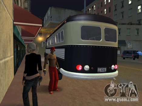 Bus из GTA 3 for GTA San Andreas back view