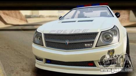 EFLC TBoGT Albany Police Stinger for GTA San Andreas back left view