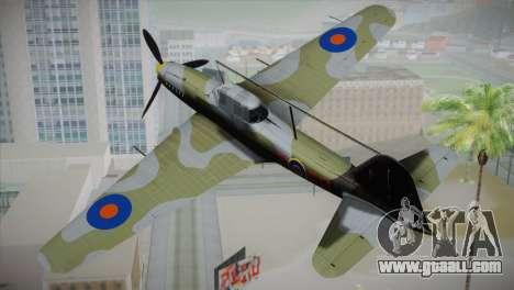 ИЛ-10 Royal Air Force for GTA San Andreas left view