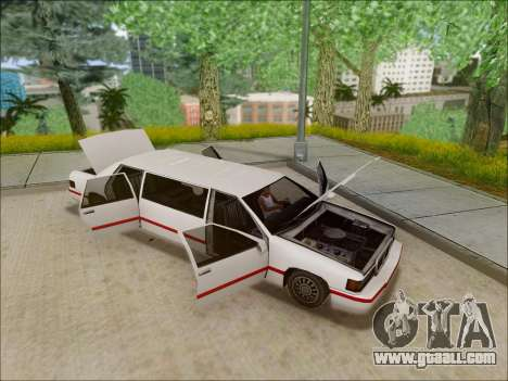 Elegant Limousine for GTA San Andreas right view