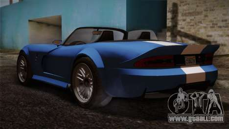 GTA 5 Invetero Coquette v2 for GTA San Andreas left view
