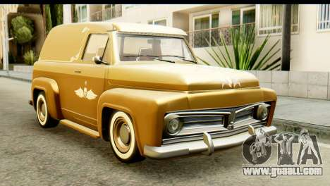 EFLC TLaD Vapid Slamvan for GTA San Andreas