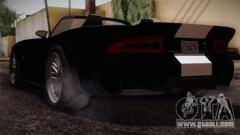 GTA 5 Invetero Coquette v2 IVF for GTA San Andreas left view
