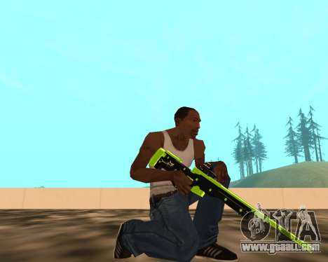 Sharks Weapon Pack for GTA San Andreas second screenshot