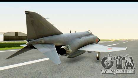 F-4EJ Mitsubishi Heavy Industries for GTA San Andreas left view