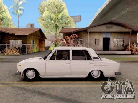 VAZ 2106 Classic for GTA San Andreas back left view