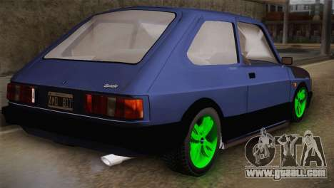 Fiat 147 Tuning for GTA San Andreas