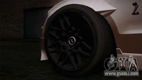 Ford Shelby GT500 RocketBunny SVT Wheels for GTA San Andreas