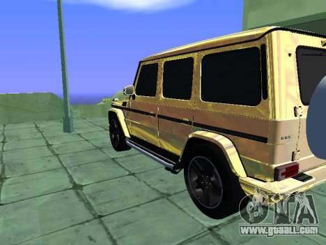 Mercedes-Benz G65 AMG for GTA San Andreas left view