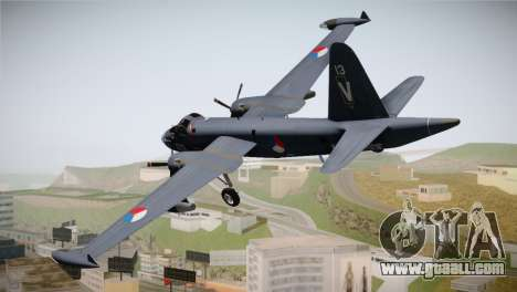 Lockheed P2V-7 Neptune MLD for GTA San Andreas left view