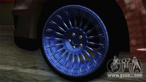 Dacia Logan Most Wanted Edition v1 for GTA San Andreas back left view