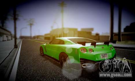 Blacks Med ENB for GTA San Andreas third screenshot