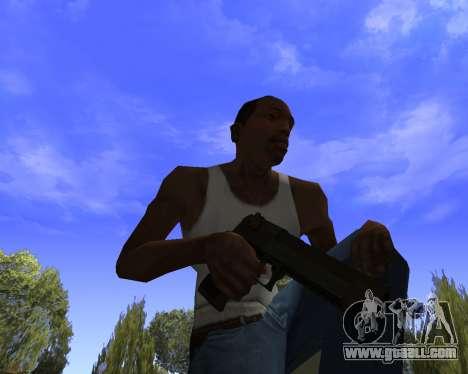 Skins Weapon pack CS:GO for GTA San Andreas forth screenshot