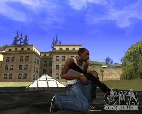 Skins Weapon pack CS:GO for GTA San Andreas tenth screenshot