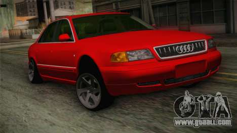 Audi A8 2000 for GTA San Andreas back view