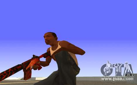 M4A4 Вой CS:GO for GTA San Andreas third screenshot