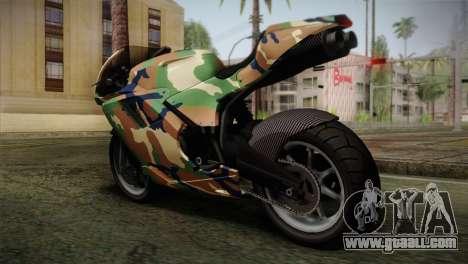 GTA 5 Bati MIX for GTA San Andreas left view