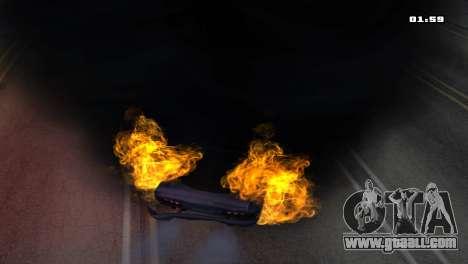 Burning Car for GTA San Andreas fifth screenshot