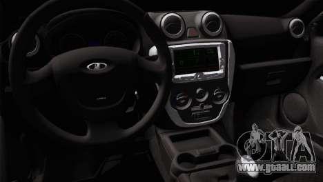 Lada Granta Sport for GTA San Andreas back view