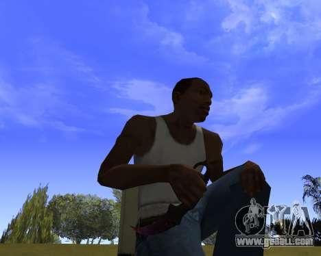 Skins Weapon pack CS:GO for GTA San Andreas third screenshot