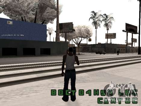 Colormod v5 for GTA San Andreas