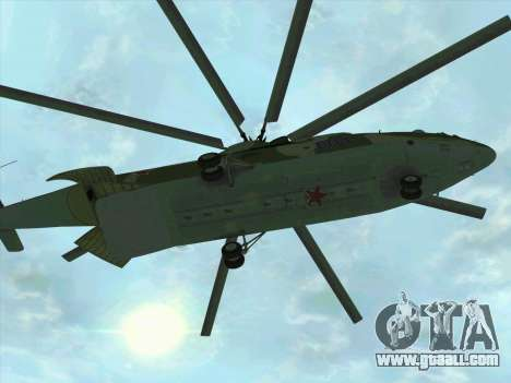 Mi 26 for GTA San Andreas left view
