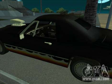 Diablo Stallion из GTA 3 for GTA San Andreas right view