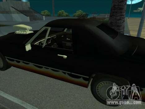 Diablo Stallion из GTA 3 for GTA San Andreas right view