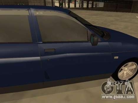 VAZ 2110 for GTA San Andreas interior