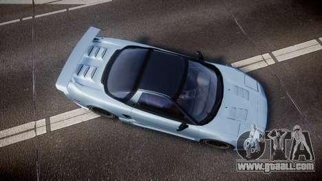 Honda NSX 1998 [EPM] for GTA 4 right view