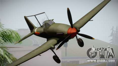 ИЛ-10 Chinese Air Force for GTA San Andreas