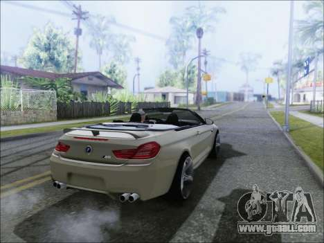 BMW M6 Cabriolet 2012 for GTA San Andreas left view