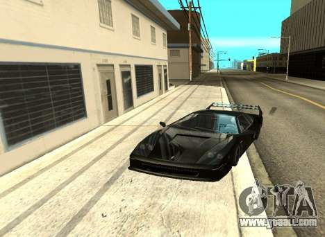 ENB Reflections on cars for GTA San Andreas fifth screenshot