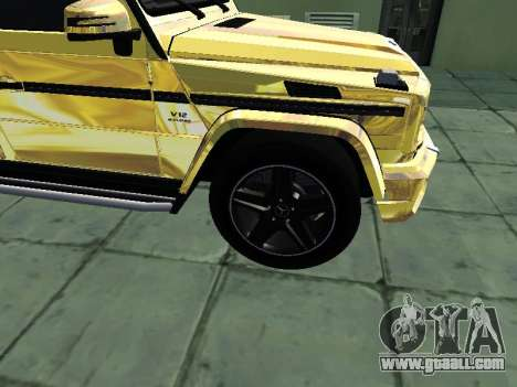 Mercedes-Benz G65 AMG for GTA San Andreas right view