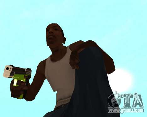 Sharks Weapon Pack for GTA San Andreas eighth screenshot