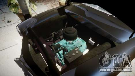 Ford Custom Club 1949 v2.1 for GTA 4 back view