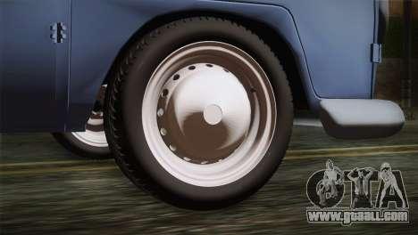 Volkswagen T1 Short for GTA San Andreas back left view