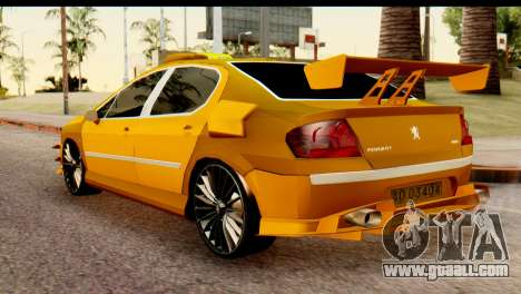 Peugeot 407 Sport Taxi for GTA San Andreas left view